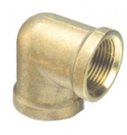 "1/4"" Brass Female Threaded Elbow"