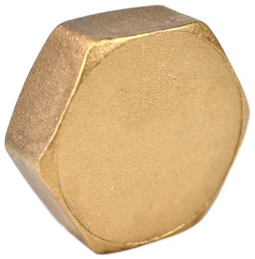 "3/4"" Brass Threaded Cap"