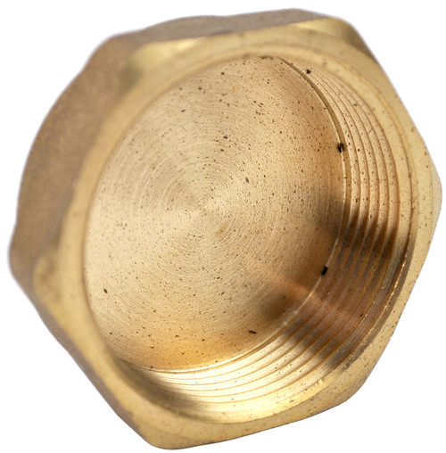 "2"" Brass Threaded Cap"