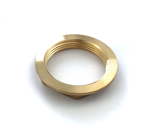 1 1/2 inches BSP Flanged Sink Waste Brass Backnut