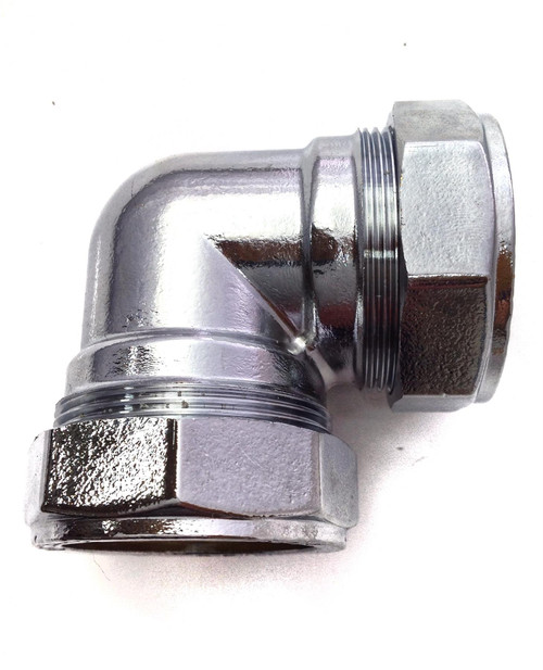 42mm Compression Chrome Plated Elbow