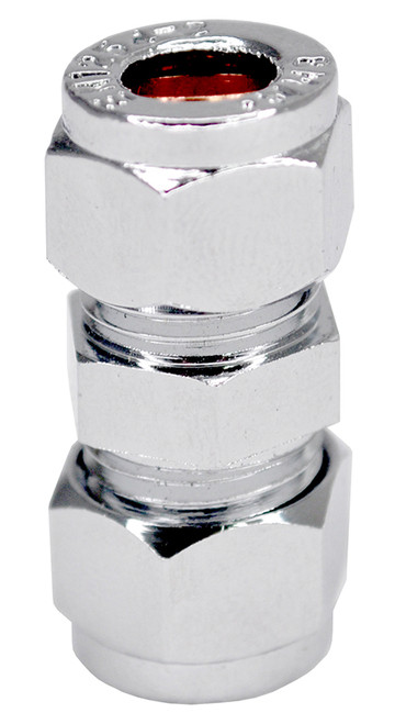 10mm Chrome Coupling