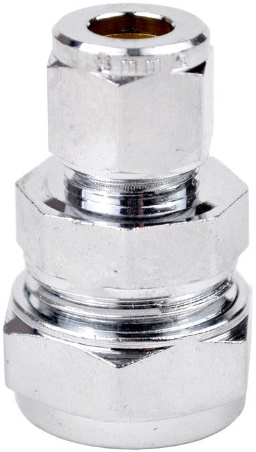 15mm x 12mm Chrome Reducing Couplings