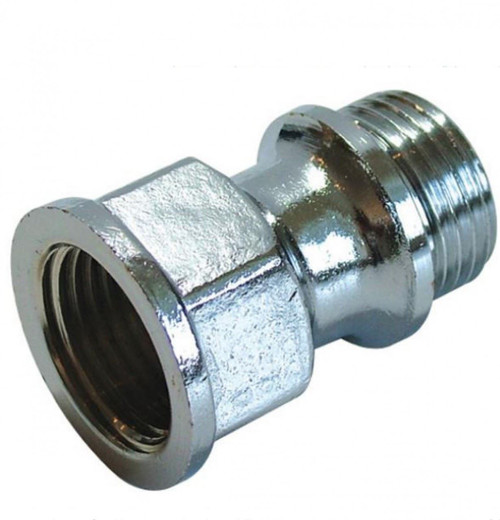 "1/2"" x 50mm Chrome Plated Brass Extention"