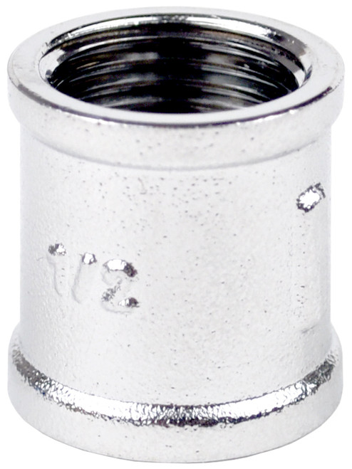 "1/2"" Chrome Plated Brass Threaded Socket"