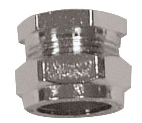 28mm Chrome Stop End