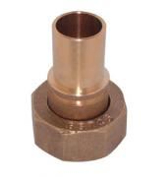 "22mm x 1"" Grooved Gas Meter Union"