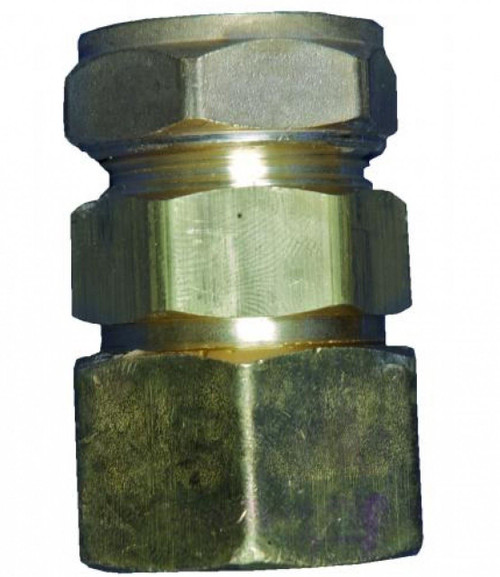 TRACPIPE x Copper Compression Coupling DN15 x 15mm