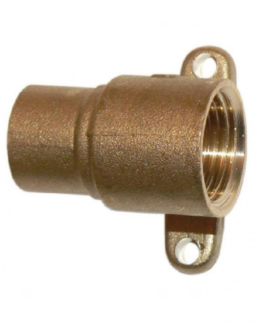 "Wall Connectors - Straight 1/2"" x 15mm"