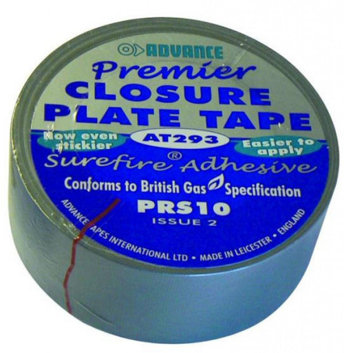 Gas Board PRS10 Closure Plate Tape - 10 Metres