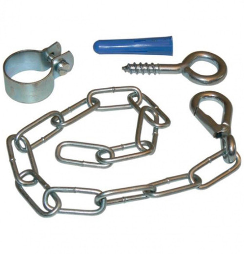 "Cooker Stability Fittings - 16"" Chain, Screws & Hook"