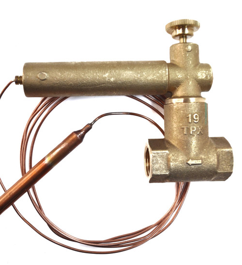 TESLA 65 Degree Remote Fire Valve- 1.5 Metres