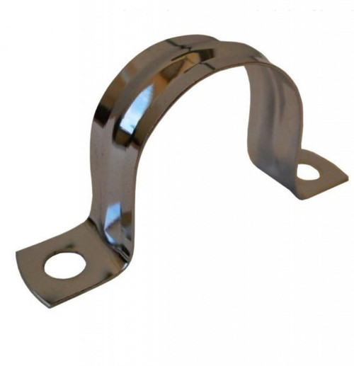 22mm Chrome Plated Copper Pipe Saddle