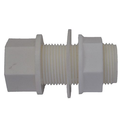 Solvent Weld 21.5mm Overflow Pipe Tank Connector