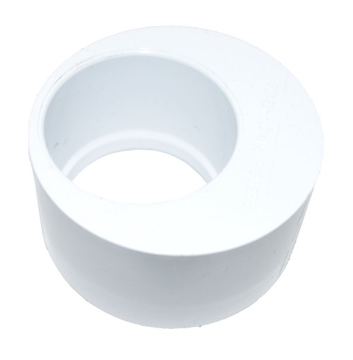 Solvent Weld 40mm x 21.5mm Overflow Pipe Reducer