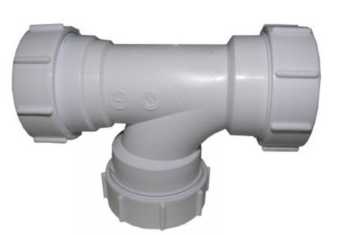 """Polypipe 1 1/2"""" Condensate Swept Tee WTCD"""