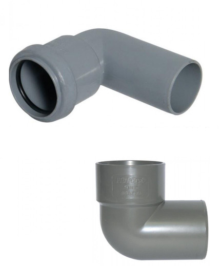 Why does waste pipe come in different sizes - 32mm and 36mm - 40mm and 43mm?