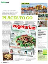Jasmijn De Boo, CEO of Vegan Society, finds fantastic vegan options in Mallorca Spain