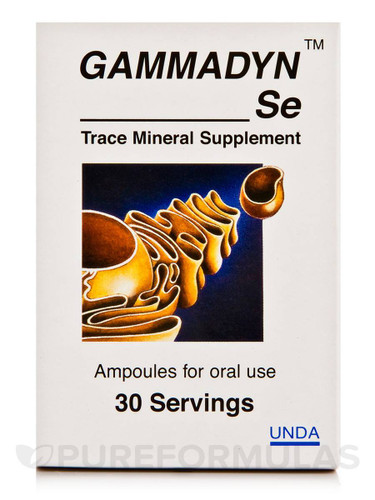 Gammadyn Oligo Element Minerals - Custom Testing Library and Guide