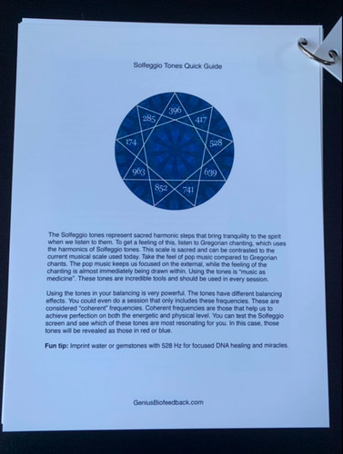 The Solfeggios are music as medicine. Learn in this Quick Reference Guide the meaning of 528 Hz - Transformation, Miracles and DNA Repair - and more!