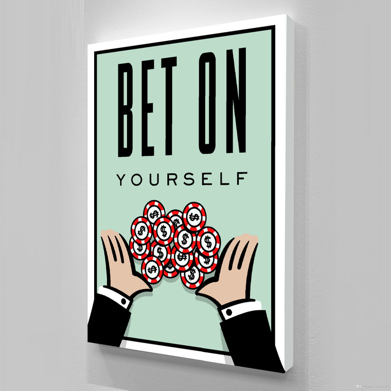 MONOPOLY - BET ON YOURSELF