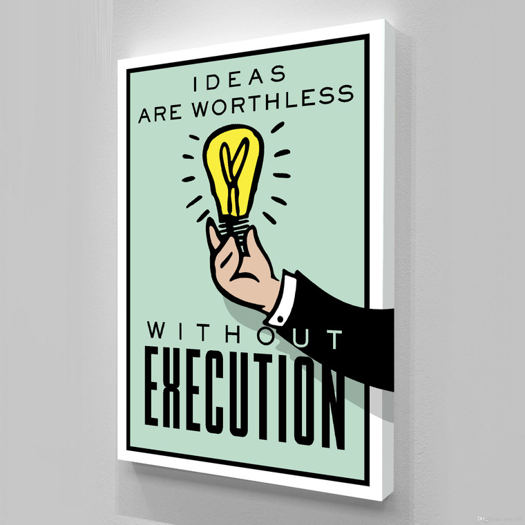 MONOPOLY - IDEAS ARE WORTHLESS