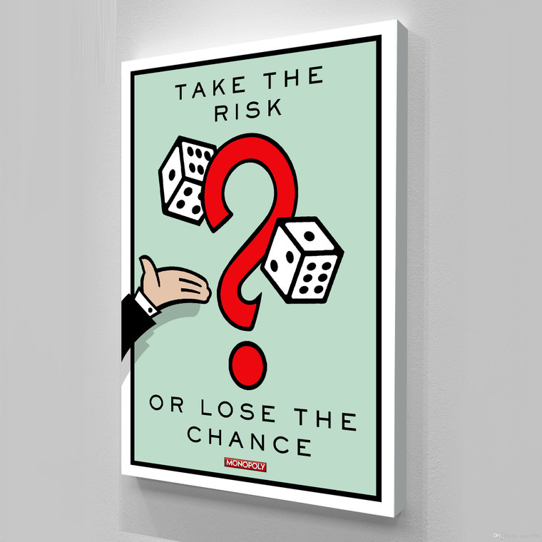 MONOPOLY - TAKE THE RISK 2