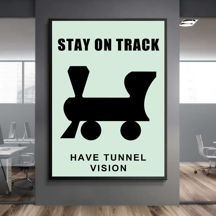 MONOPOLY - STAY ON TRACK