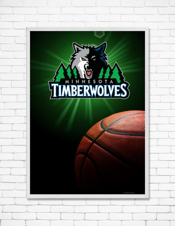 MINNESOTA TIMBERWOLVES 2 black