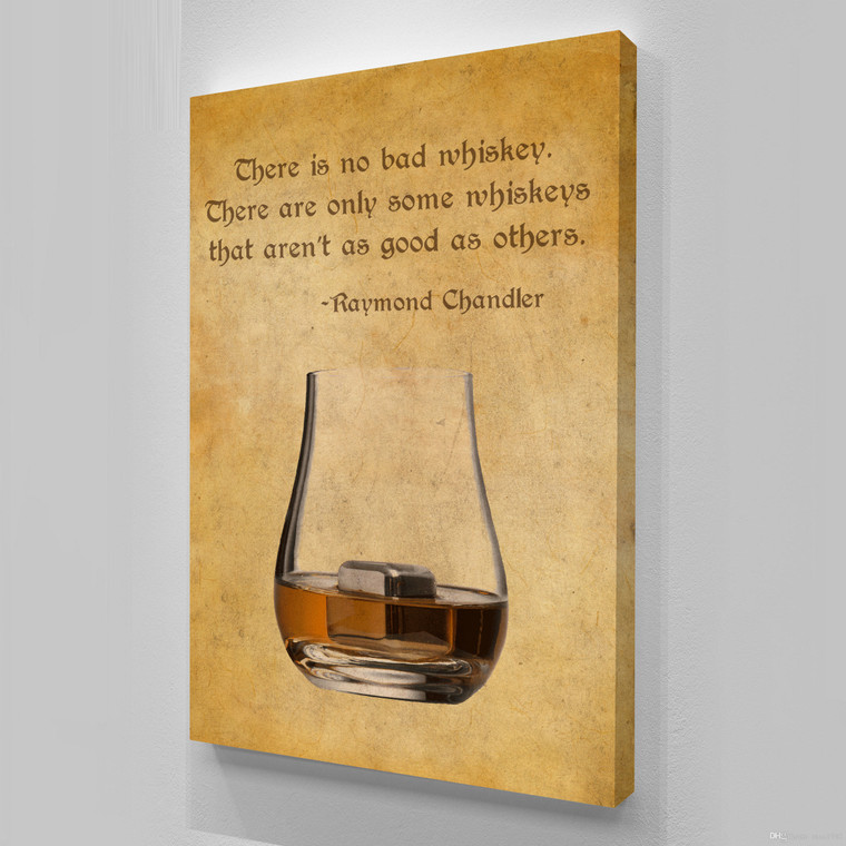 OLD WHISKY GLASS RAYMONT CHANDLER A