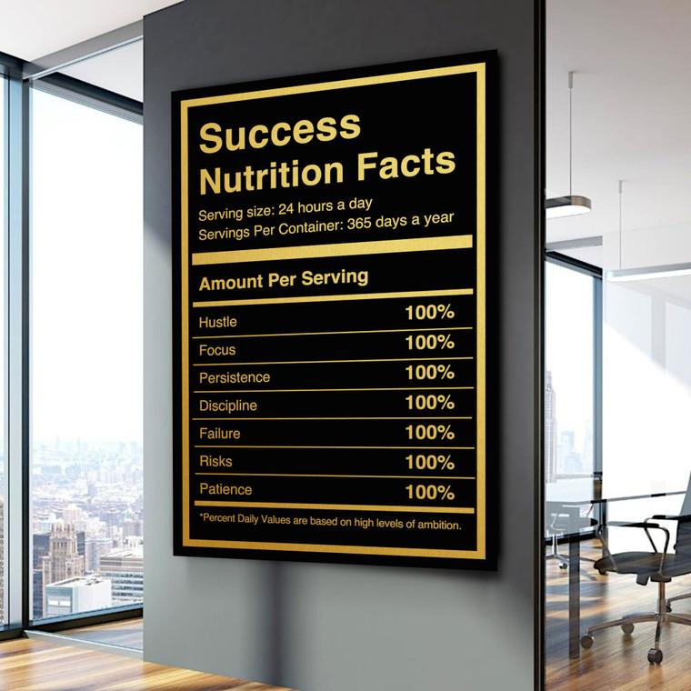 SUCCESS NUTRITION FACTS