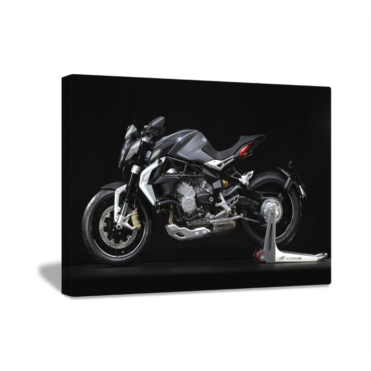 NINJA SUPERBIKE Inspirational Print Home Wall Art Decor Home Great for Gift Home Picture Poster / Canvas