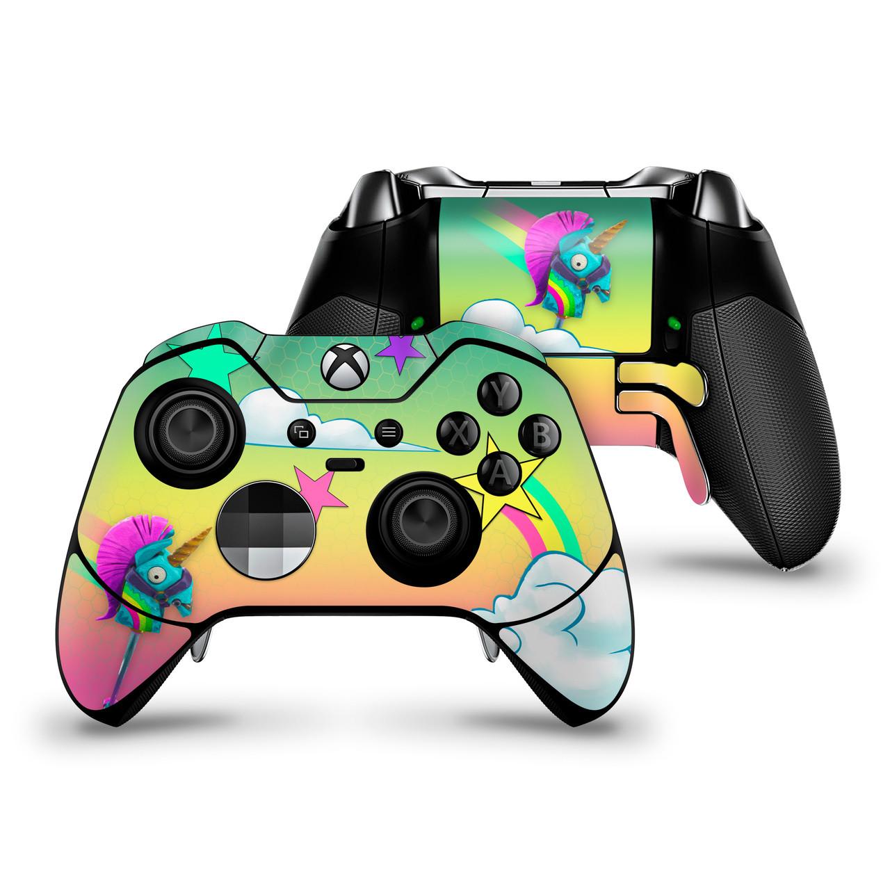 Rainbow Smash Xbox One Elite Controller Skin