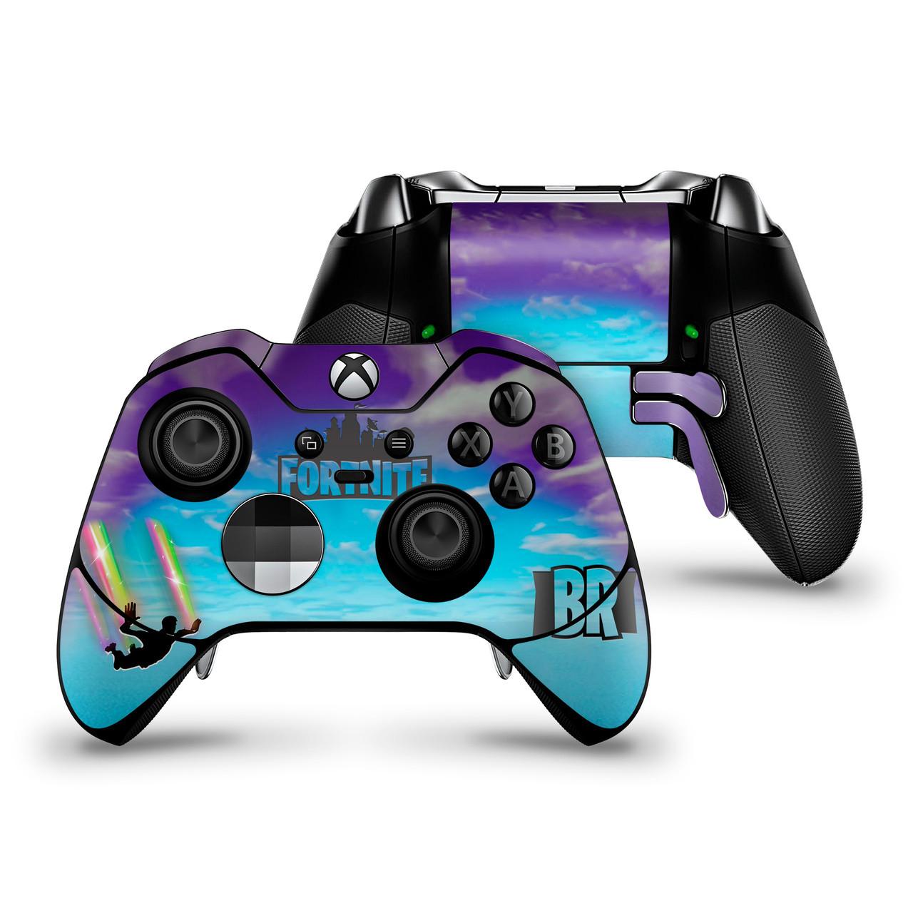 Stormy Sky Rainbow Trails Xbox One Elite Controller Skin