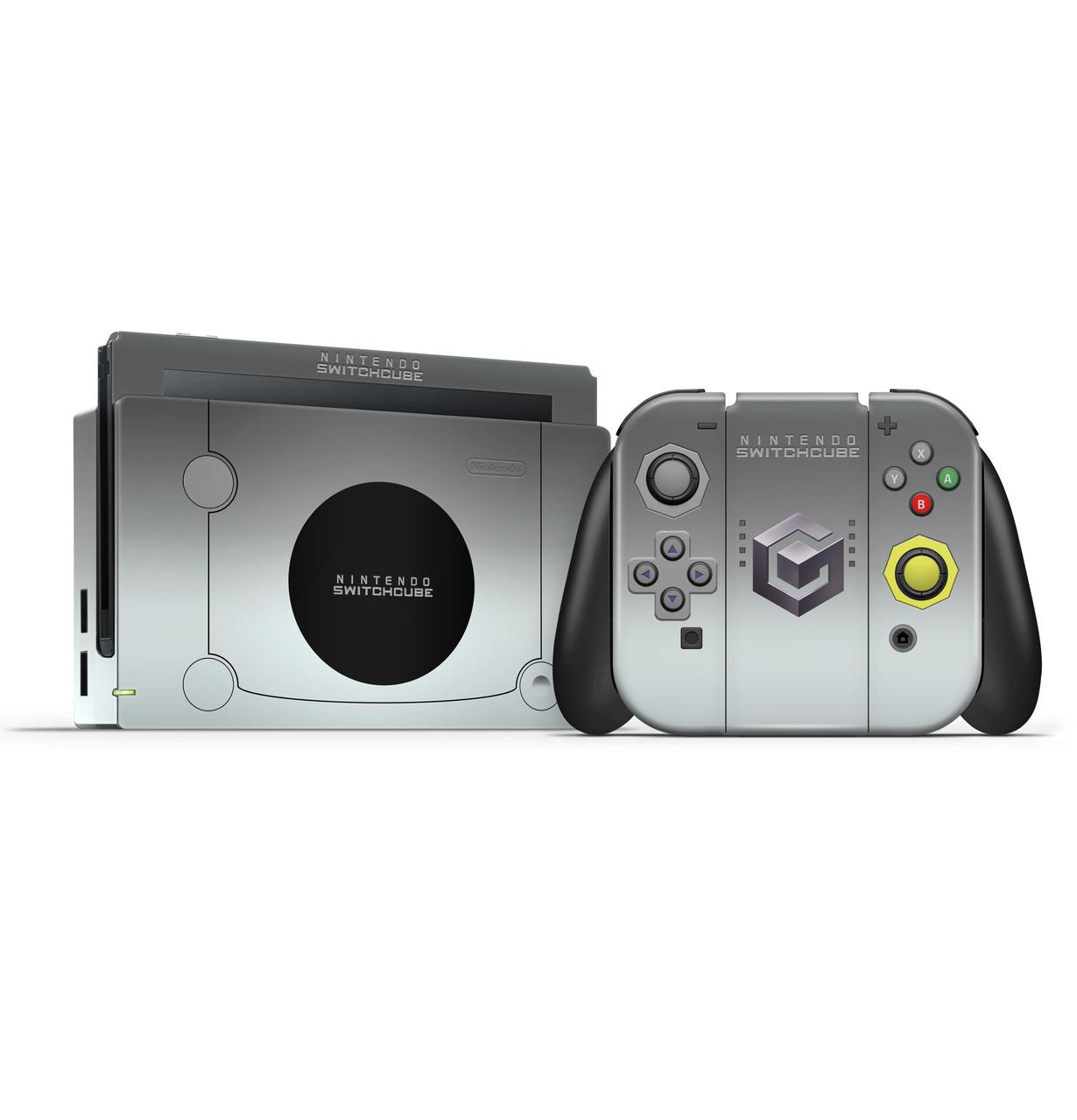 Gamecube Silver Switch Skin