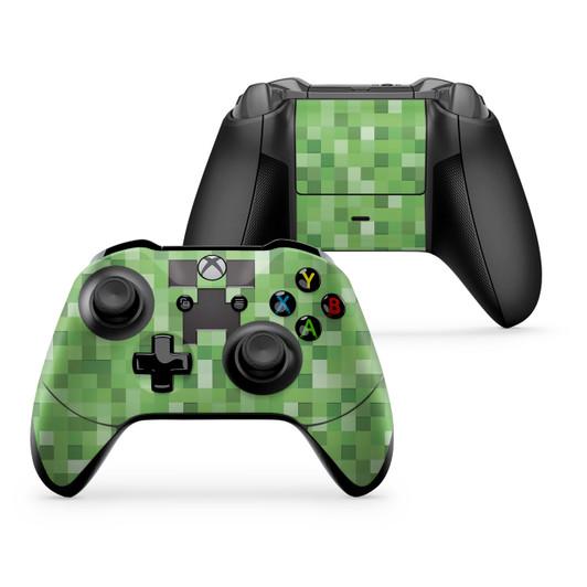 Pixel Diamond Block Xbox One X Controller