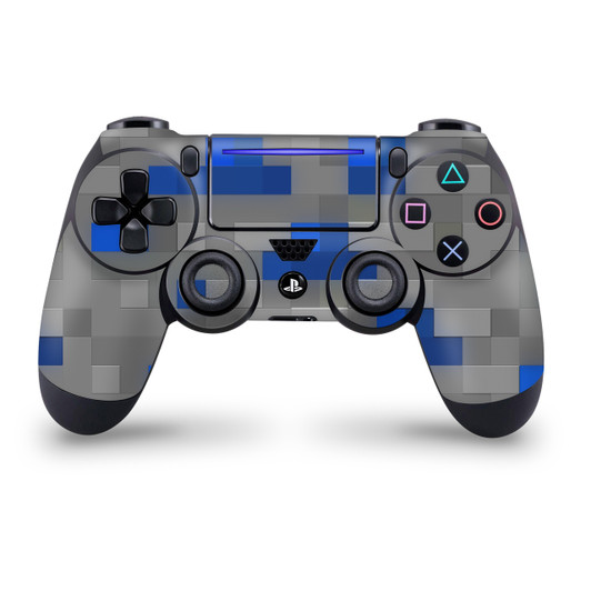 Pixel Iron Block Ps4 Controller Skin