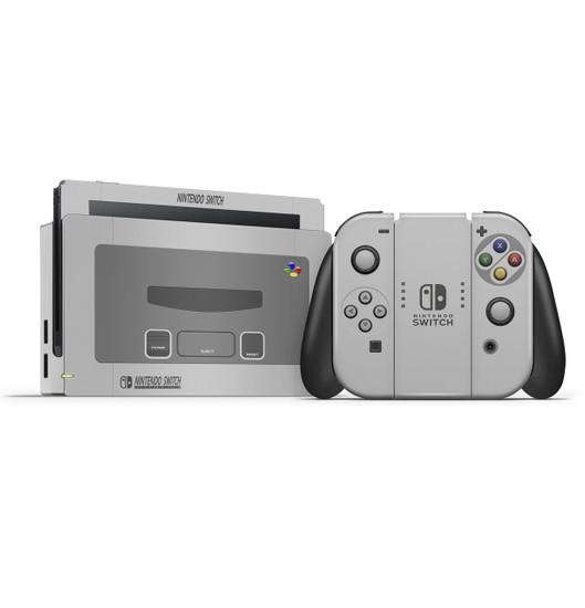Snes Theme  Nintendo Switch Skin Set