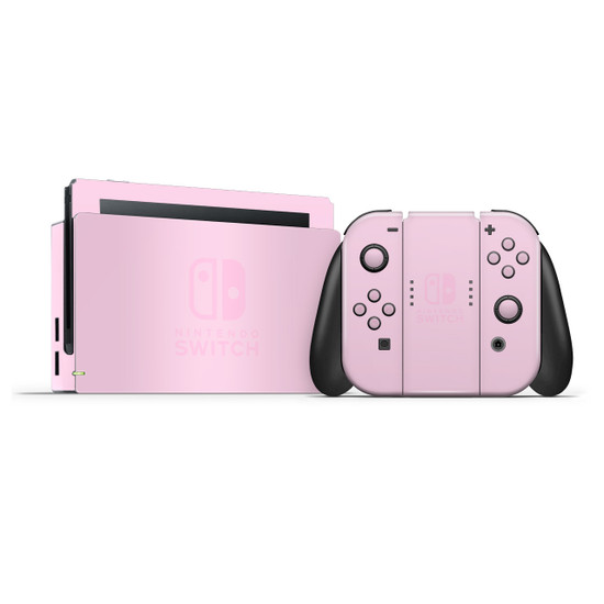 Pale Rose Nintendo Switch Skins