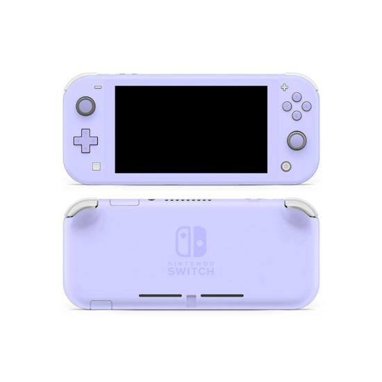 Lavender Blue Nintendo Switch Lite Skin