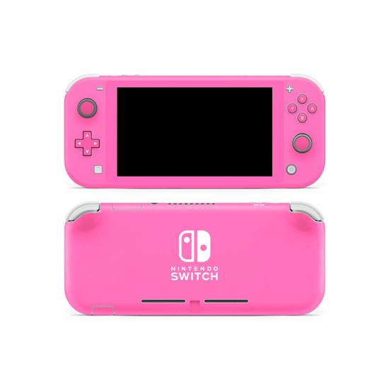 Hot Pink Nintendo Switch Lite Skin