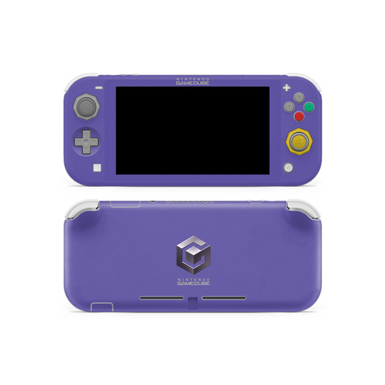 GameCube Theme Nintendo Switch Lite Skin