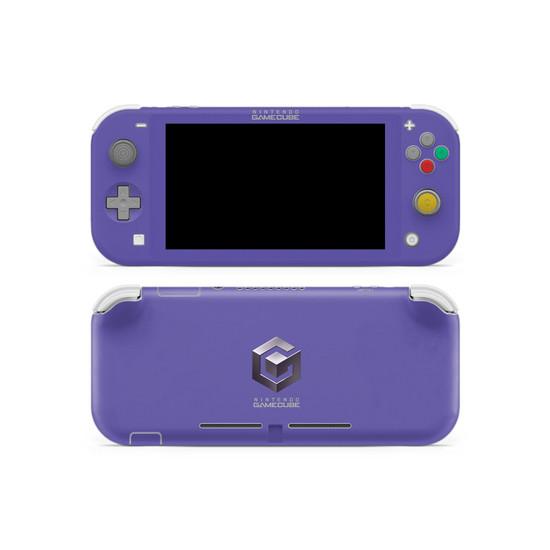 GameCube V2 Theme Nintendo Switch Lite Skin
