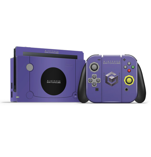 Gamecube Nintendo Switch  Skin Set