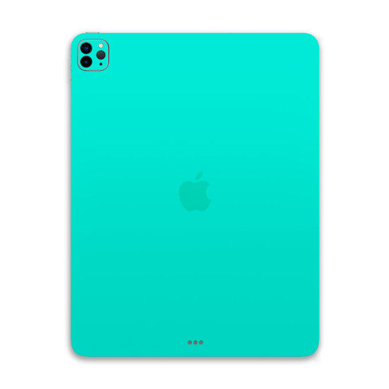 Happy Turquoise Apple iPad Pro 12.9 [4th Gen] Skin