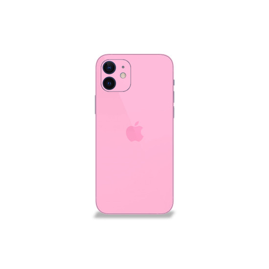 Aesthetic Pink Apple iPhone 12 Mini Skin