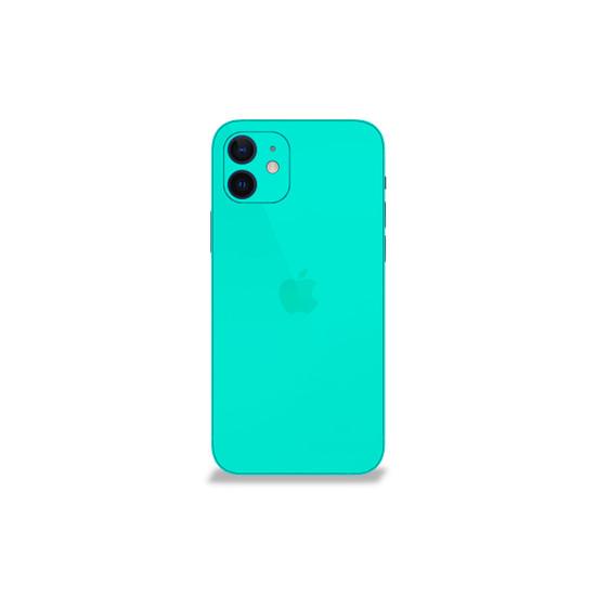 Happy Turquoise Apple iPhone 12 Mini Skin