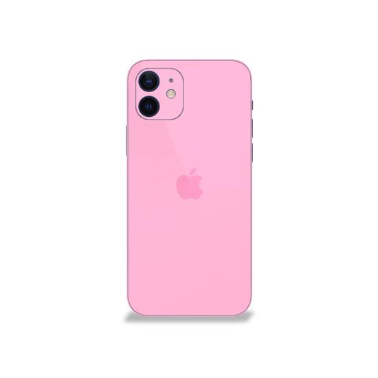 Aesthetic Pink Apple iPhone 12 Skin