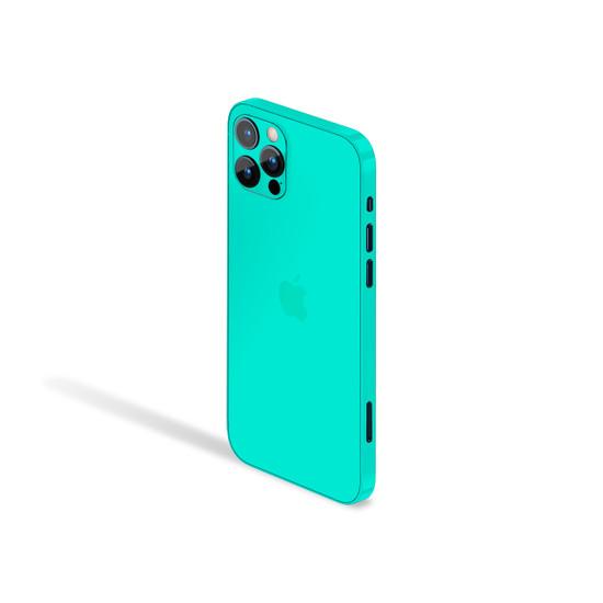 Happy Turquoise Apple iPhone 12 Pro Skin
