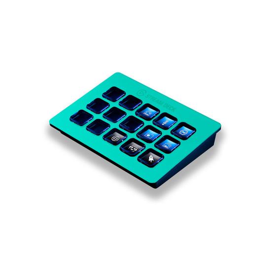 Happy Turquoise Elgato Stream Deck Skin